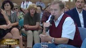 Václav Havel (a la derecha), foto: ČT24