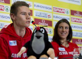 Pavel Maslák and Zuzana Hejnová, photo: CTK
