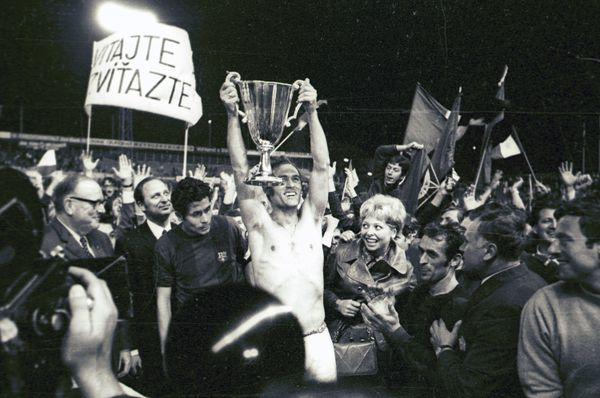 Slovan Bratislava derrotó al Barcelona, foto: SK Slovan, CC BY-SA 4.0