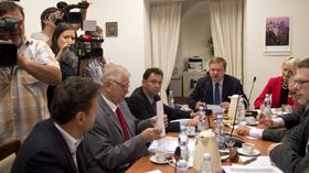 Parliamentary commission, photo: CTK