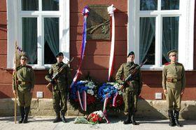 Tarnów, Polsko, místo posledního odpočinku Antonína Grmely aJosefa Müllera, foto: Ministerstvo obrany ČR