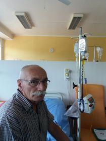 пациент Владимир Клепал, тестирующий Mitotam, фото: Андреа Скалицка, ЧРо