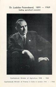 Ladislav Feierabend, photo: Archive of Miroslav Krupička