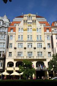 Гостиница Zlatá Husa на Вацлавской пл., Прага, Фото: открытый источник