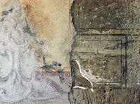 Fragmente dekorativer Wandmalereien (Foto: CTK)