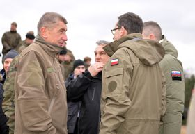 Andrej Babiš avec Viktor Orbán, Peter Pellegrini et Mateusz Morawiecki, photo: Photo: ČTK/Petr Kupec