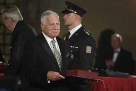 Václav Klaus (Foto: ČTK / Ondřej Deml)