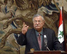 Presidente iraquí, Jalal Talabani (Foto: CTK)