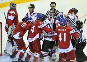 Ondřej Pavelec s'en est bien sorti lors de cette grande première, photo: CTK