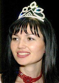Galina Broyko (Ukraine) - winner of the Miss Deaf World contest, photo CTK