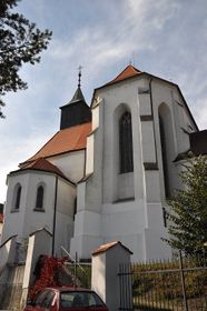 La iglesia de San Juan Bautista, Jindřichův Hradec, foto: Ben Skála / CC BY-SA 3.0