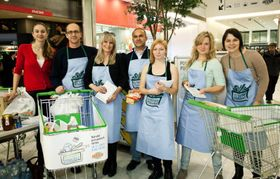 Foto: presentación oficial del proyecto 'Alimento ayuda'