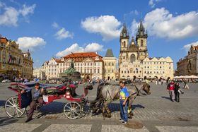 Old Town Square, photo: Pedro Szekely, Flickr, CC BY-SA 2.0
