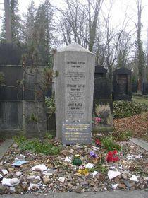 Могила Франца Кафки на пражском Новом еврейском кладбище, Фото: открытый источник