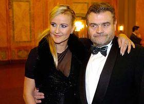 Karel Svoboda con su esposa Vendula (Foto: CTK)