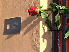 Gedenktafel für Miloslav Jebavý (Foto: Archiv des Instituts für das Studium totalitärer Regime)