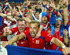 Czech fans, photo: CTK
