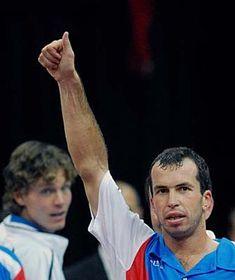 Tomas Berdych and Radek Stepanek, photo: CTK