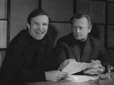 Jiří Suchý y Jiří Šlitr, foto: Archivo de ČRo