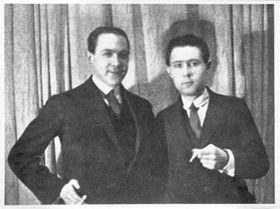 Витезслав Незвал и Карел Тейге, фото: Моравский краеведческий музей в Брно