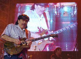 Carlos Santana en Praga (Foto: CTK)