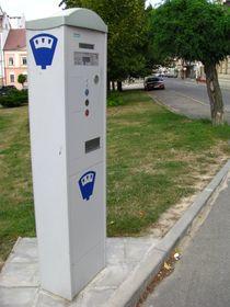El sistema de aparcamiento actual, foto: Barbora Kmentová