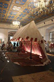 Türkisches Zelt aus dem 17. Jahrhundert (Foto: Archiv des staatlichen Denkmalschutzamtes)