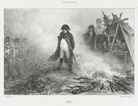 Napoléon par Auguste Raffet, source: Los Angeles County Museum of Art, public domain