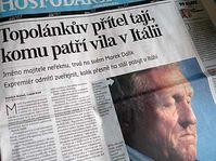 Zdroj: Hospodářské noviny, 3.8.2009