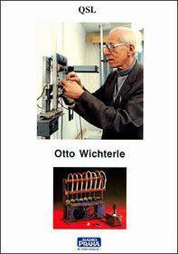 Tarjeta QSL de Radio Praga, Otto Wichterle