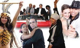 'Salsa para todos' en Lucerna Music Bar, foto: el póster oficial del evento