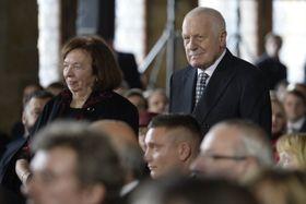 Ливия Клаусова и Вацлав Клаус, фото: ЧТК