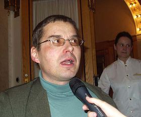 Ředitel Pražské informační služby Václav Novotný, foto: Autor