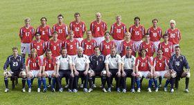 Czech Republic's football team, photo: CTK