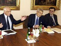 El presidente Václav Klaus está consultando con los especialistas en psicología, foto: CTK