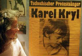 Exposición sobre la vida de  Karel Kryl, foto: ÈTK