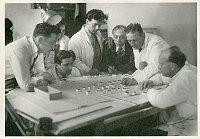 Франтишек Заммер (4-ый справа), Фото: Архив г. Плзень