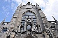 La cathédrale de l'Assomption-de-la-Vierge à Sedlec, photo: Ben Skála, CC BY-SA 3.0 Unported