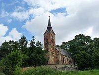 St. George's church in Luková, photo: Zdeňka Bušková, CC BY-SA 4.0)