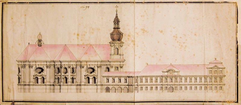 Боковой фасад храма свв. Петра и Павла в Райграде, фото: открытый источник