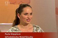 Pavla Köpplová, foto: ČT