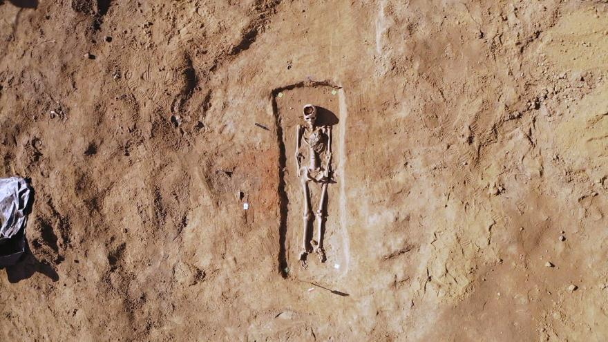 Archaeologists unearth seven graves dating back to Great Moravian Empire | Radio Prague International
