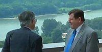 Václav Klaus y Vladimír Mečiar, foto: ČT 24