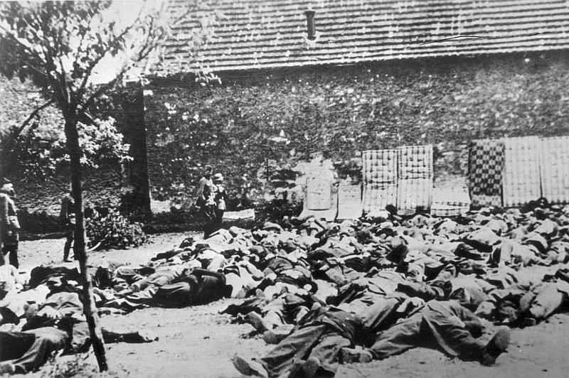 Lidice, la ejecución de 173 hombres de entre 14 y 84 años de edad, foto: archivo ČT24