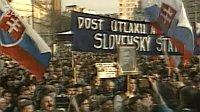 Slowaken lehnen gemeinsamen Staat mit Tschechen ab (Foto: ČT 24)