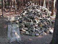 Památník Járy Cimrmana vKaprounu, foto: Stanislav Jelen, CC BY-SA 3.0 Unported