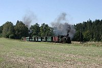Jindřichohradecká úzkokolejka, foto: Dikke Diesel, CC BY 2.0 Generic