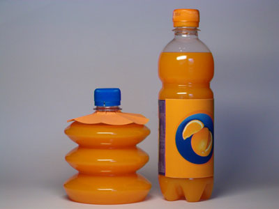 The Collapsible Plastic Bottle New Czech Invention