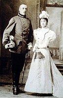 Генрих и Мицуко на свадебной фотографии, Фото: открытый источник