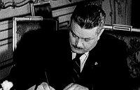 Alois Eliáš, foto: ČT (Documento 'Heydrich - la solución final')